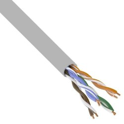 Кабель UTP 4PR 24AWG cat.5e CCA LIGHT витая пара (бухта 305м)
